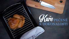 Pečené kuře - Kuchařka pro dceru Grill Pan, Grilling, Turkey, Meat, Cooking, Kitchen, Food, Daughter, Chicken