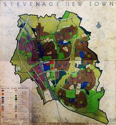 Stevenage New Town Plan