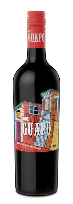 Que Guapo wine by Estudio Iuvaro