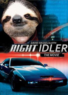 16 Movie Posters, Improved By Sloths  Can't even explain how hard I laughed at this!