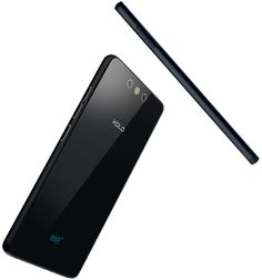 XOLO Black is a elegant smartphone with smooth curved edges having thin glass body.