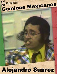 """Sergio Alejandro Suárez Velasco es un actor cómico mexicano nacido en Ciudad De México, Distrito Federal, México en el 26 de Julio en 1941 que trabajó en """"Navarro Y Asociados"""" en varios programas como: """"Chucherias"""", """"Ensalada de Locos"""", """"El Show De Alejandro Suárez"""" entre otros varios mas. Es medio hermano de Héctor Suárez, actor, director y productor mexicano."""