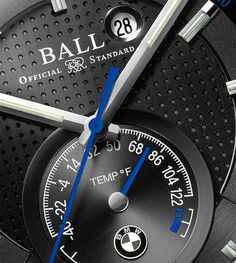 """Ball For BMW TMT Chronometer Watch Taking Preorders - by Zen Love - More details to get your preorder now at: aBlogtoWatch.com - """"The new Ball for BMW TMT Chronometer watch incorporates the mechanical thermometer seen on some other Ball timepieces while remaining very consistent within the Ball for BMW family. It also shows in various ways how Ball is responding to the details and specs enthusiasts want, as well as adapting to the online retail reality. With a very cool looking piece..."""""""