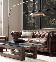 40+ LEATHER SOFAS INSPIRATIONS FOR MODERN LIVING ROOM