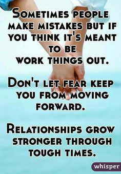 Don't be so quick to give up on your relationship