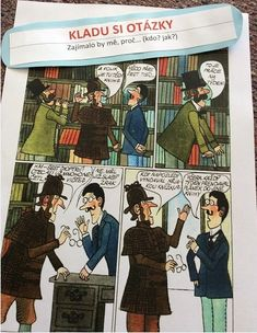 Čtenářské strategie, drahý Watsone... - U ČITELKY