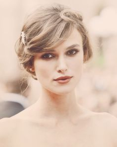 Keira Knightley... she is gorgeous...