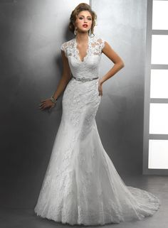 If you're searching for a wedding dress with a designer feel without the designer price tag, look no further than Sottero and Midgley.