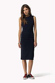 Compra vestido de ajuste entallado y explora la colección de vestidos Tommy Hilfiger para  mujer. Envío gratuito desde €150 y devolución gratuita. 8718941267100