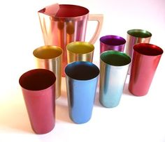 i remember drinking out of these in grandma's kitchen when i was a child