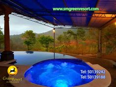 Green Resort, Spa, Jacuzzi, Outdoor Decor, Home Decor, Restaurants, Naturaleza, Events, Decoration Home