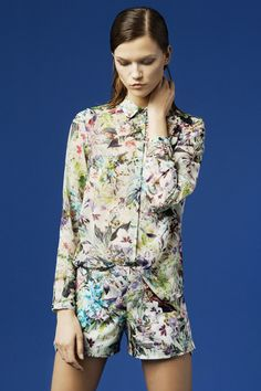 Zara. I love print on print. Very Stella McCartney.