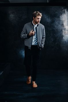 perfect varsity jacket to transition for the fall // menswear fall style + fashion
