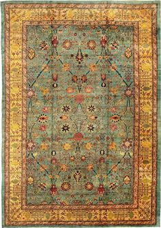 Read our Oriental Rug Guide to learn about the history of Oriental rugs and carpets. Find out how to choose an Oriental rug, and what exactly is an Oriental rug. Agra, Persian Carpet, Persian Rug, Iranian Rugs, Patterned Carpet, Carpet Runner, Tribal Rug, Rugs On Carpet, Hall Carpet