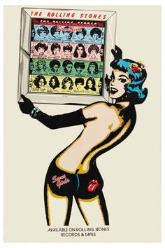 Classic: The Rolling Stones * Some Girls * Promotional Poster 1978