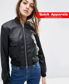 http://www.quickapparels.com/faux-leather-cropped-bomber-jacket.html