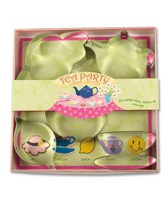 Tea Party Cookie Cutter Set