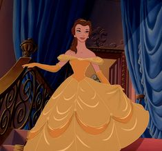 Belle, the princess of Butterfingers. | A Definitive Ranking Of 72 Disney Princess Outfits