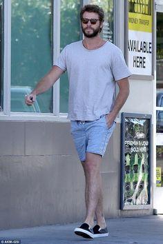 Liam Hemsworth wearing Vans Multicolor Slip-on Pro