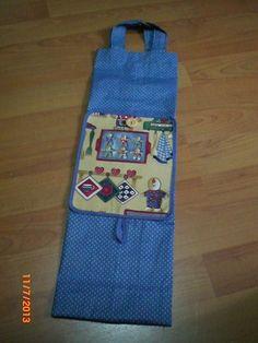 Bolsa para el pan (desplegada); Foldable bread bag