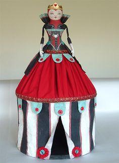 Cirque du Wonderland Red Queen by Jo James