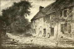 House birthplace Millet. Jean-Francois Millet