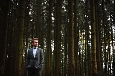 Laura Elena Photography » Laura Elena ♡ Portrait- und Hochzeitsfotografie » Herr Holzner * Imagefotos im Wald
