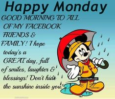 good+morning+rainy+monday+images   Happy Monday Good Morning Facebook Friends Pictures, Photos, and ...