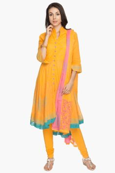 Womens Printed Salwar, Kurta and Dupatta Set