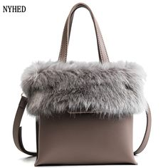 New Women Fur Handbags Fashion Lady Party Pu Shoulder Bags Winter Style Bucket Bags. Yesterday's price: US $39.80 (33.01 EUR). Today's price: US $20.70 (17.12 EUR). Discount: 48%.