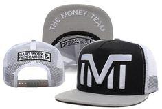 TMT-Snapback-The-Money-Team-Hip-hop-Unisex-Adjustable-Hat-Baseball-Cap-Black-tmt