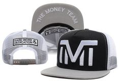 TMT-Snapback-The-Money-Team-Hip-hop-Unisex-Adjustable-Hat-Baseball-Cap-Black-tmt