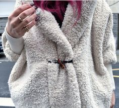 Mon sublime manteau Doudou. Retrouvez-le dans mon dernier post sur www.bloghln.com