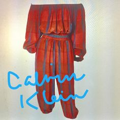 "59 Likes, 8 Comments - Marlene Wetherell (@marlenewetherell) on Instagram: ""#Calvin Klein #harem inspired ensemble #1970's shop #new arrivals #marlenewetherell.com"""