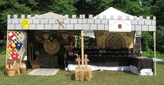 "Donovan Castle - and other ""get Medieval on your Gazebo"" ideas"