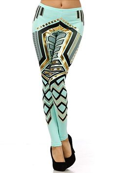World of Leggings | Egyptian Princess Leggings