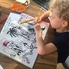 """Nastia Cistakova on Instagram: """"Zwoegen met stiften en zwoegen met de zomer @de_volkskrant @volkskrantmagazine"""" Instagram"""