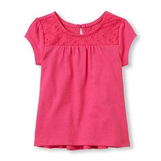 The Childrens Place- Toddler Girl Baby Doll Shirt- size 12-18 Months- Pink  Check out www.stores.ebay.com/jenscreationstx