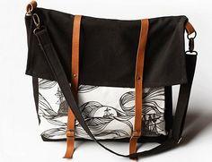 jenna rose messenger bag: brown