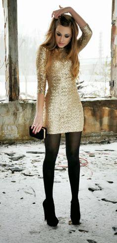 Gold + Black