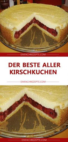 The best of all cherry cake 😍 😍 😍- Der beste aller Kirschkuchen 😍 😍 😍 The best of all cherry cake 😍 😍 😍 - Cake Mix Cookie Recipes, Chip Cookie Recipe, Easy Cheesecake Recipes, Peanut Butter Cookie Recipe, Cheesecake Cookies, Keto Cheesecake, Easy Vanilla Cake Recipe, Chocolate Cake Recipe Easy, Chocolate Cookie Recipes