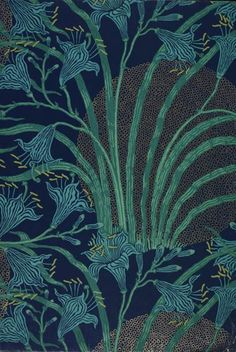 64 Ideas art nouveau pattern textiles walter crane for 2019 Motifs Textiles, Textile Patterns, Print Patterns, Floral Patterns, Walter Crane, William Morris, Motifs Art Nouveau, Collage Kunst, Lily Wallpaper