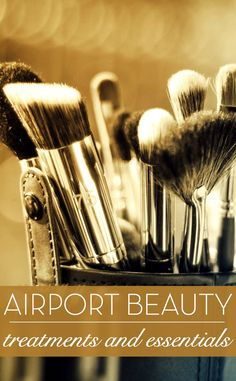 Airport beauty treatments and essentials. How to arrive looking and feeling glam when you travel. Here are some of our favourite products to look out for at the airport from leading luxury beauty brands that minimise the effects of travel. Travel beauty / Luxury beauty products / Make up