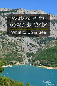 What to Do & See at the Gorges du Verdon France