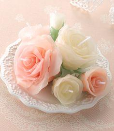 Svíčka * mini růže
