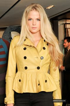Gabriella Wilde. She is stunning. Love her hair and eyes.