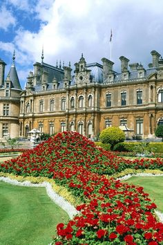Waddesdon Manor,  a country house in the village of Waddesdon, in Buckinghamshire, England. The house was built in the Neo-Renaissance style of a French château between 1874 and 1889 for Baron Ferdinand de Rothschild (1839–1898). Since this was the preferred style of the Rothschilds it became also known as the Goût Rothschild. The house, set in formal gardens and an English landscape park, was built on a barren hilltop overlooking Waddesdon village.