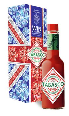 Tabasco Diamond Jubilee edition.  Sometimes they make commemoratives out of the strangest things!