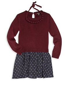 4eb678db0 Imoga - Toddler's, Little Girl's & Girl's Two-Piece Pipa Sweater Dress ...