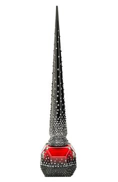 Christian Louboutin 'Rouge Louboutin - Starlight' Nail Colour available at #Nordstrom holy crap $675 nail polish!!